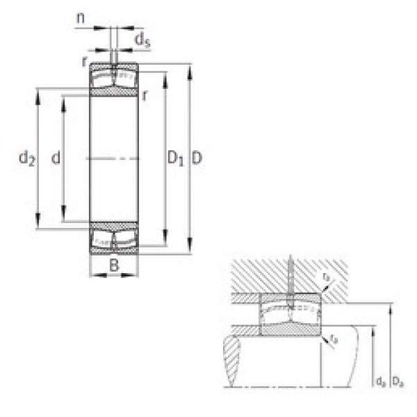 200 mm x 420 mm x 138 mm  FAG 22340-MB spherical roller bearings #3 image
