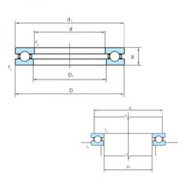 PSL 51272 thrust ball bearings #1 image