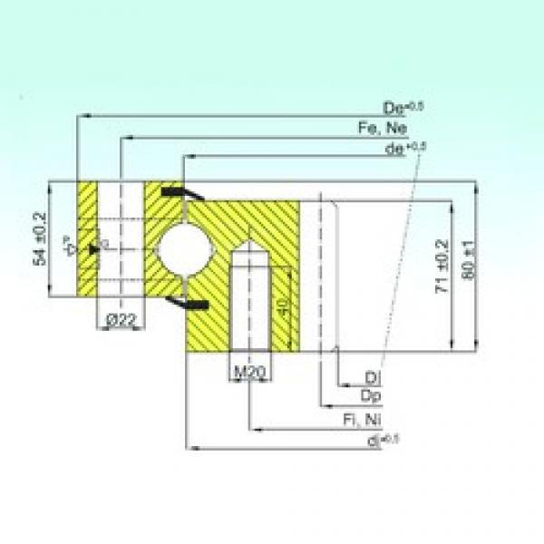 ISB ZB1.25.1455.200-1SPTN thrust ball bearings #1 image