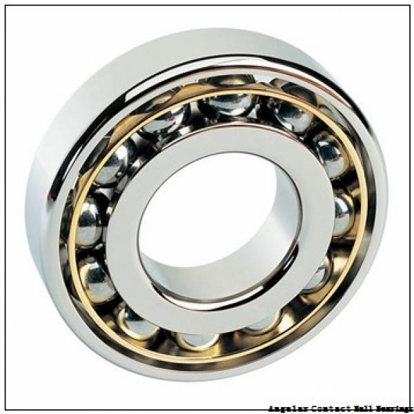 15 mm x 42 mm x 13 mm  FBJ 7302B angular contact ball bearings #2 image