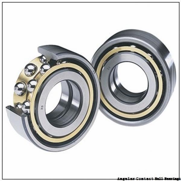 85 mm x 130 mm x 22 mm  SNR ML7017CVDUJ74S angular contact ball bearings #1 image