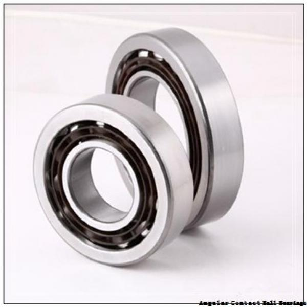 20 mm x 52 mm x 22,2 mm  NKE 3304-B-2RSR-TV angular contact ball bearings #1 image