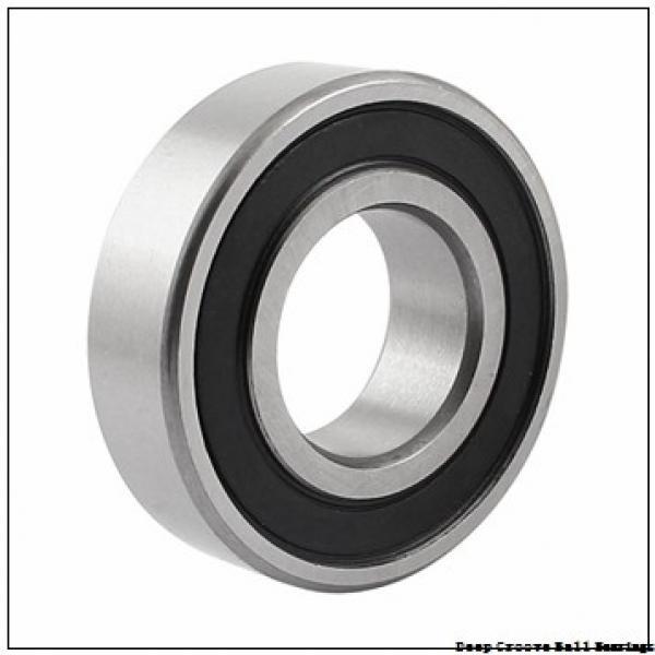 2 mm x 6 mm x 3 mm  NMB RF-620ZZ deep groove ball bearings #2 image