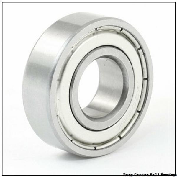 2 mm x 6 mm x 2,3 mm  NMB R-620 deep groove ball bearings #1 image