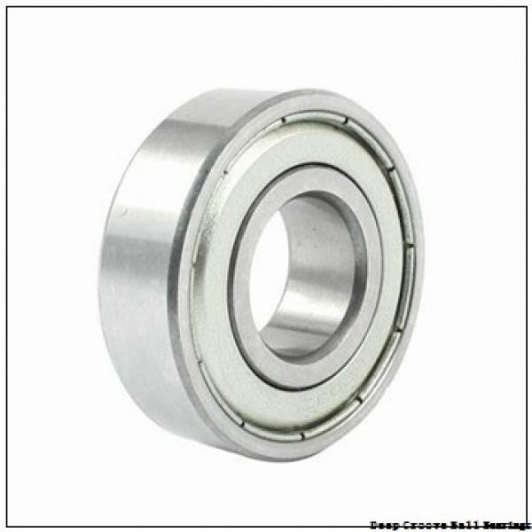 4,762 mm x 14,305 mm x 6,35 mm  Timken F3DD deep groove ball bearings #1 image