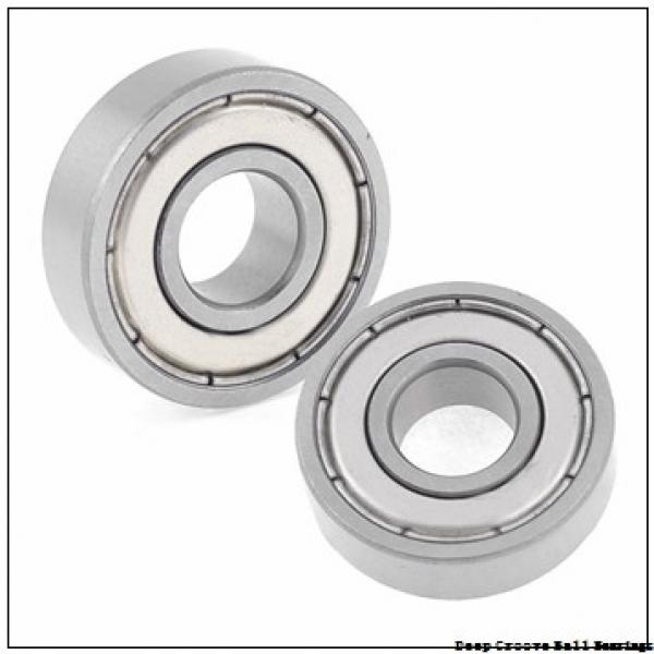 17 mm x 40 mm x 12 mm  NSK 6203 deep groove ball bearings #1 image
