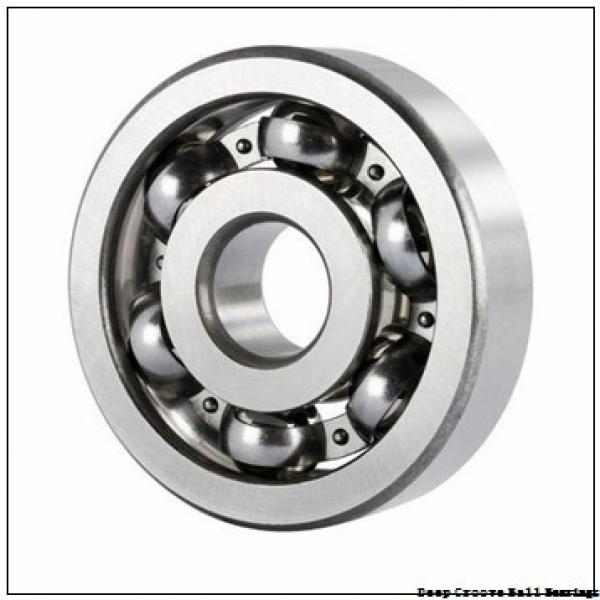 2 mm x 6 mm x 3 mm  NMB RF-620ZZ deep groove ball bearings #1 image