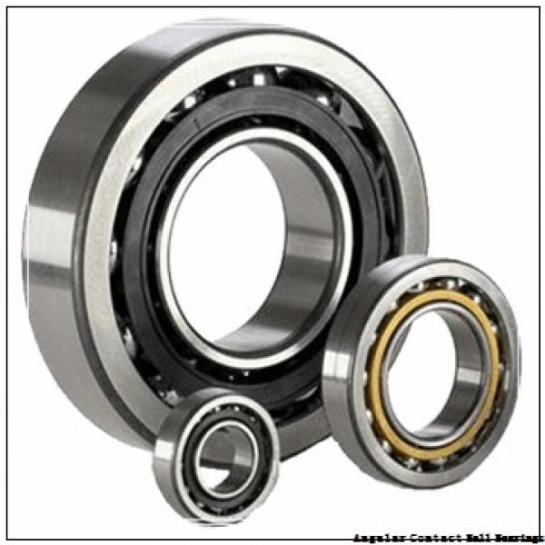 40 mm x 90 mm x 36.5 mm  NACHI 5308NR angular contact ball bearings #1 image