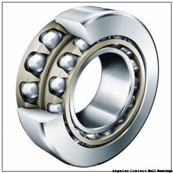 100 mm x 180 mm x 34 mm  ISO 7220 A angular contact ball bearings #1 image