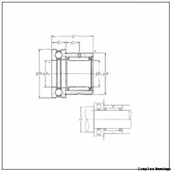 12 mm x 24 mm x 16 mm  NTN NKXR15T2Z+IR12×15×16 complex bearings #1 image