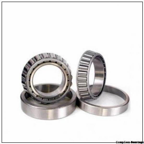 15 mm x 28 mm x 18 mm  NBS NKIA 5902 complex bearings #1 image