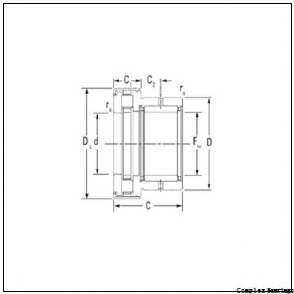 12 mm x 24 mm x 16 mm  ISO NKIA 5901 complex bearings #2 image