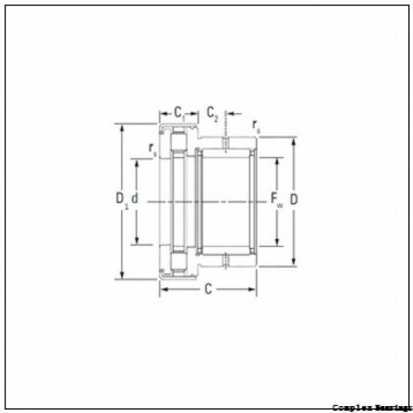 70 mm x 100 mm x 45 mm  NTN NKIB5914R complex bearings #2 image