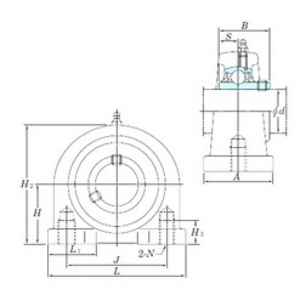 KOYO UCPA207-20 bearing units #3 image