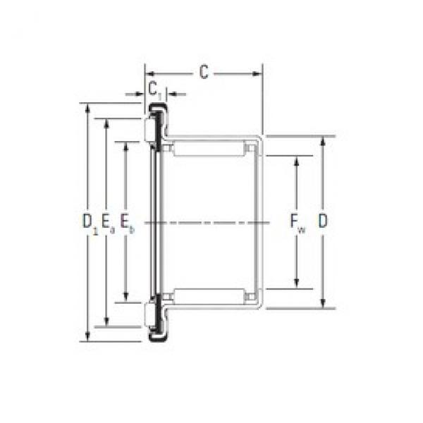 Timken RAX 740 complex bearings #3 image