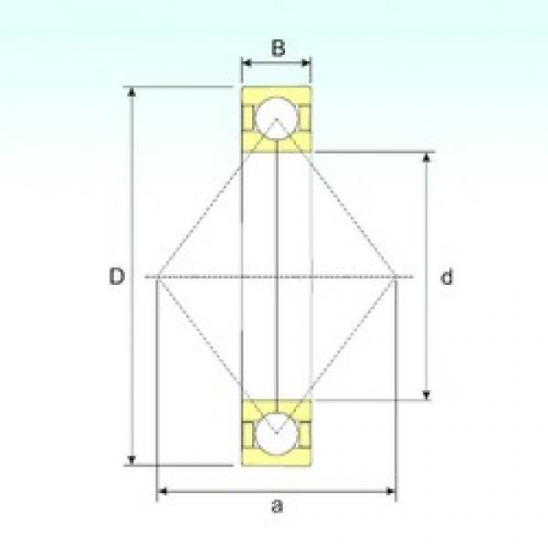 160 mm x 290 mm x 48 mm  ISB QJ 232 N2 M angular contact ball bearings #3 image