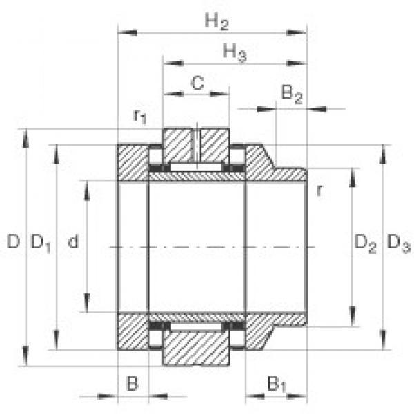 20 mm x 62 mm x 12,5 mm  INA ZARN2062-L-TV complex bearings #3 image