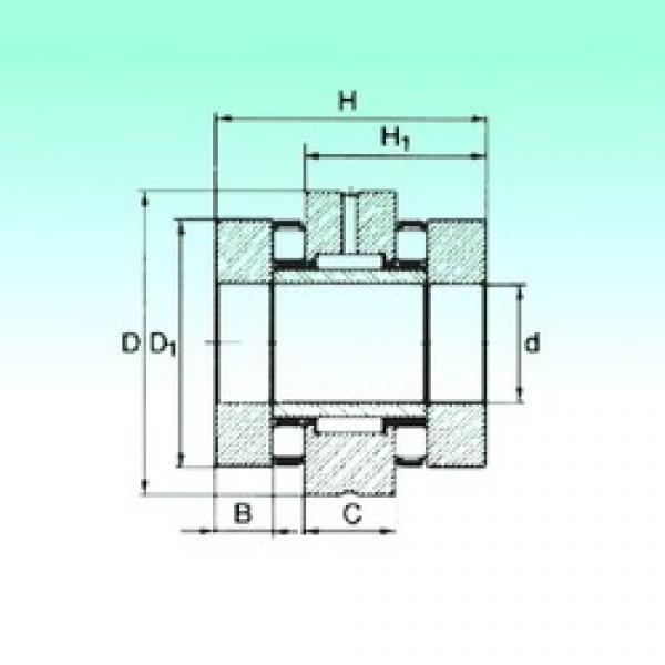 50 mm x 90 mm x 11,5 mm  NBS ZARN 5090 TN complex bearings #3 image