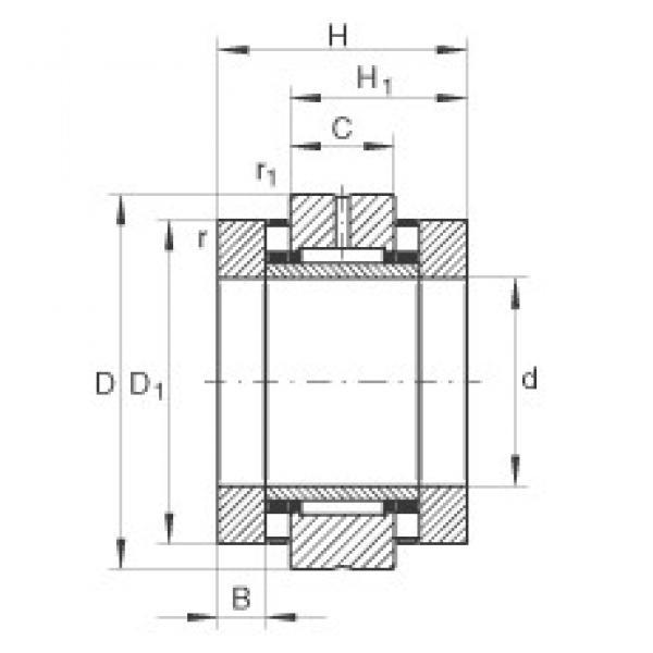 20 mm x 52 mm x 10 mm  INA ZARN2052-TV complex bearings #3 image