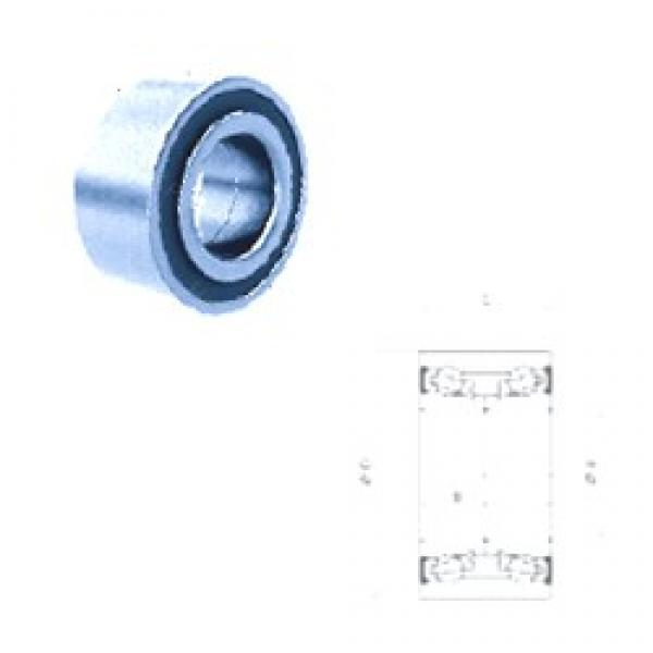 34,99 mm x 68,02 mm x 33 mm  PFI PW35680233/30CS angular contact ball bearings #3 image