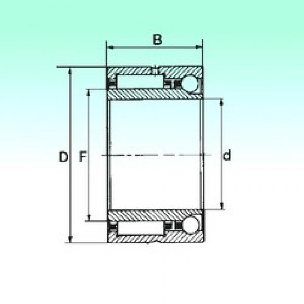 70 mm x 100 mm x 40 mm  NBS NKIA 5914 complex bearings #3 image