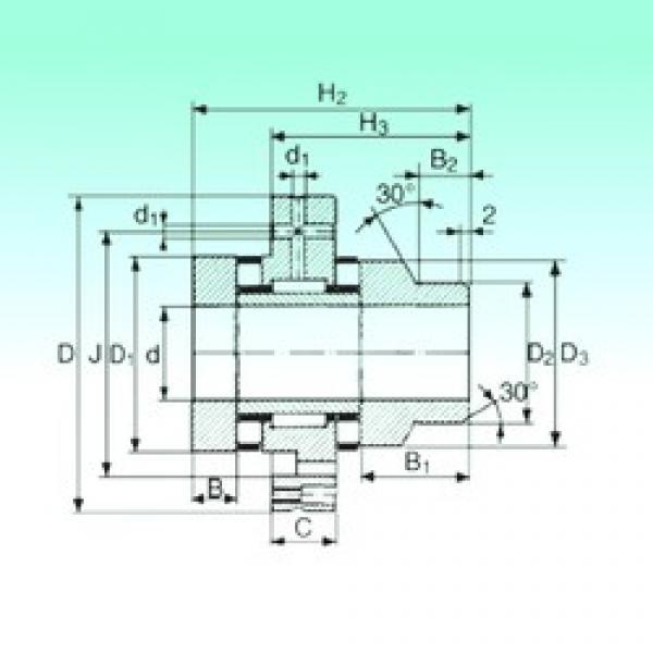45 mm x 105 mm x 11,5 mm  NBS ZARF 45105 L TN complex bearings #1 image
