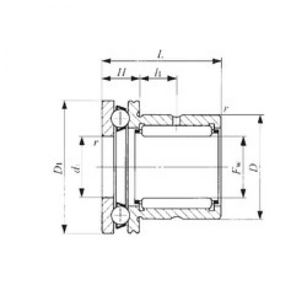 IKO NAX 7040 complex bearings #3 image