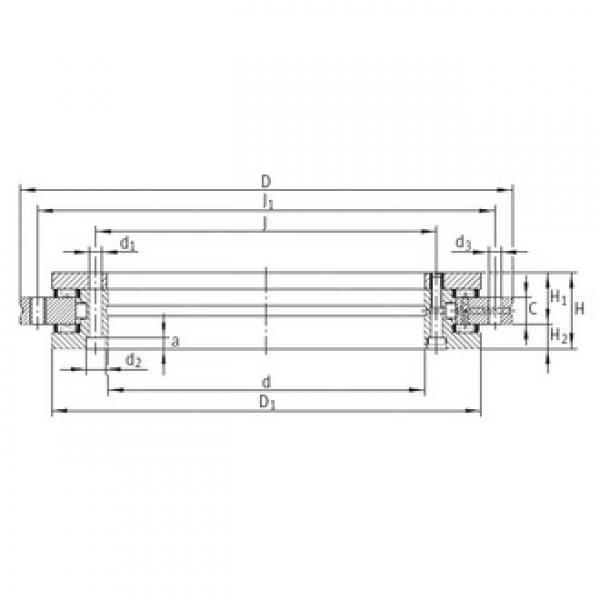 INA YRT100 complex bearings #3 image