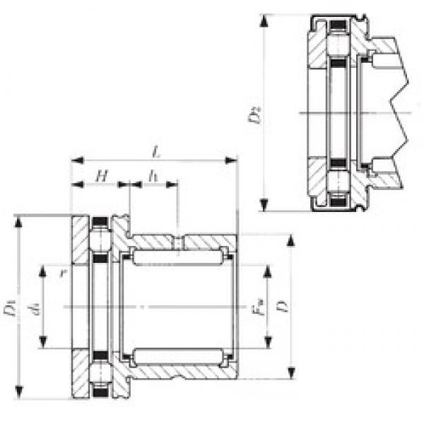 IKO NBX 3530Z complex bearings #3 image