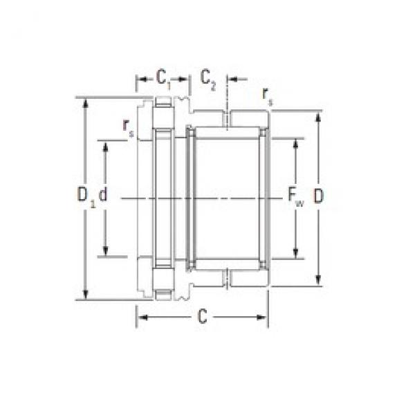 KOYO NAXR35 complex bearings #3 image