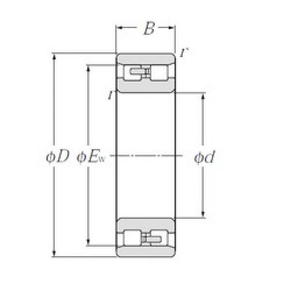 170 mm x 260 mm x 67 mm  NTN NN3034 cylindrical roller bearings #3 image