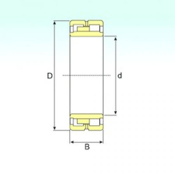 850 mm x 1360 mm x 500 mm  ISB NNU 41/850 M/W33 cylindrical roller bearings #3 image
