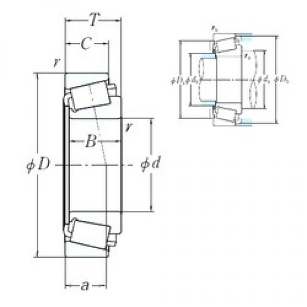 146,05 mm x 236,538 mm x 56,642 mm  NSK 82576/82931 cylindrical roller bearings #3 image
