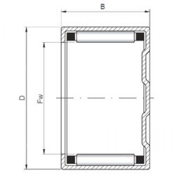 ISO BK283820 cylindrical roller bearings #3 image