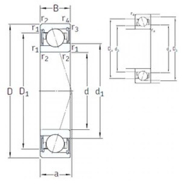 17 mm x 30 mm x 7 mm  SNFA VEB 17 /S 7CE3 angular contact ball bearings #3 image