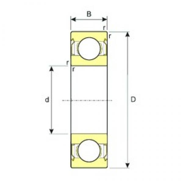 105 mm x 225 mm x 49 mm  ISB 6321-ZZ deep groove ball bearings #3 image
