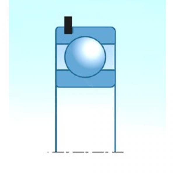 40 mm x 100 mm x 25 mm  NSK B40-134A-A-NC3UR deep groove ball bearings #3 image