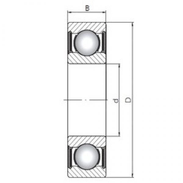 140 mm x 175 mm x 18 mm  ISO 61828-2RS deep groove ball bearings #3 image