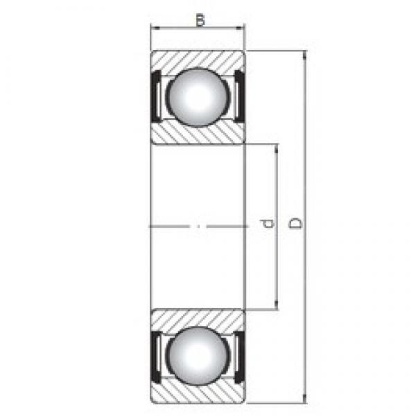 80 mm x 140 mm x 26 mm  ISO 6216 ZZ deep groove ball bearings #3 image
