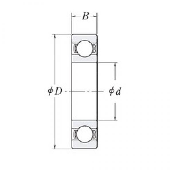 82,55 mm x 120,65 mm x 19,05 mm  RHP XLJ3.1/4 deep groove ball bearings #1 image