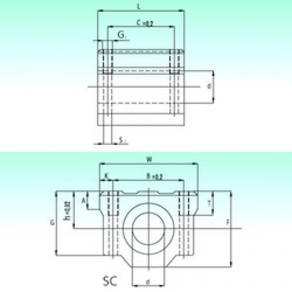 NBS SC 20-UU AS linear bearings #3 image