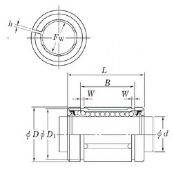 KOYO SDM30AJ linear bearings #3 image