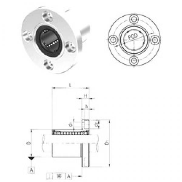 Samick LMEF40UU linear bearings #3 image