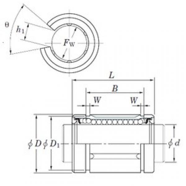 KOYO SDE12OP linear bearings #3 image