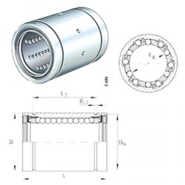INA KBS12-PP linear bearings #3 image