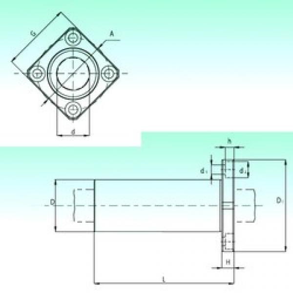 NBS KBKL 40 linear bearings #3 image