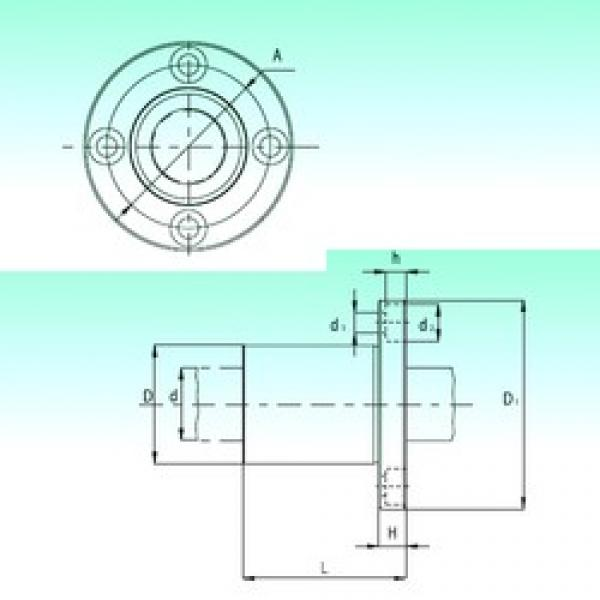 NBS KBF50-PP linear bearings #3 image