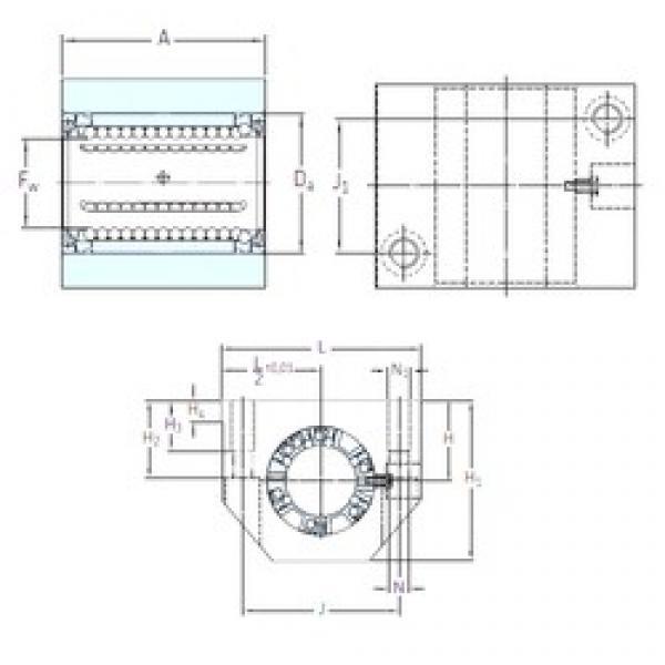 SKF LUND 30 linear bearings #3 image