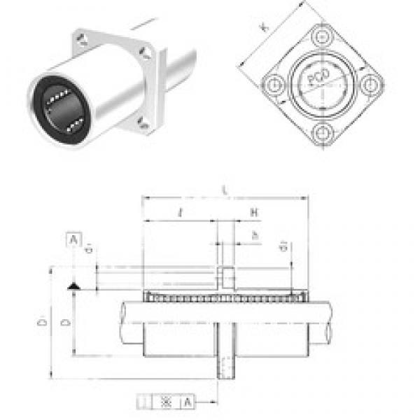 Samick LMEKM60UU linear bearings #3 image