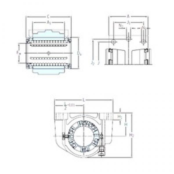 SKF LUCE 12-2LS linear bearings #3 image